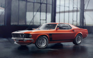 Preview wallpaper of Car, Mustang, Ford Mustang Boss 302, Muscle Car