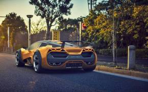 Preview wallpaper of Lada Raven 2015, Concept, SportCar