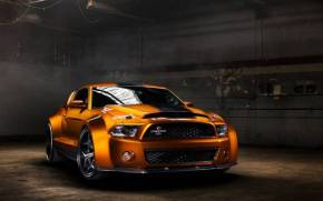 Смотреть обои Ford Mustang Shelby GT500 Super Snake