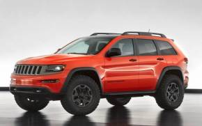 Смотреть обои Jeep Grand Cherokee Trailhawk II Concept
