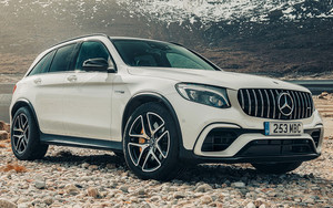 Смотреть обои Car, Compact, Luxury, Mercedes-AMG GLC 63 S SUV