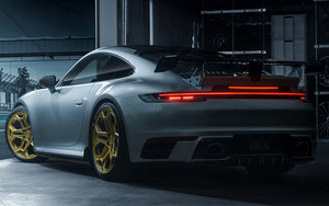 Preview wallpaper of Car, Porsche 911 (992) Carrera S by TechArt