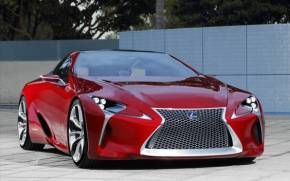 Смотреть обои Lexus LF-LC Sports Coupe Concept