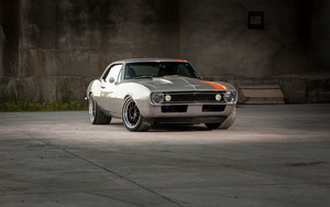 Preview wallpaper of Car, Chevrolet, Chevrolet Camaro SS, Muscle Car
