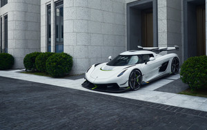 Preview wallpaper of Car, Koenigsegg Jesko, SuperCar, SportCar, White