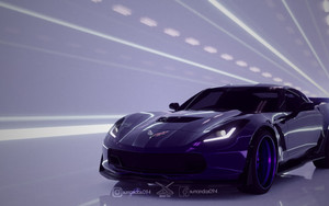 Preview wallpaper of Car, Chevrolet, Corvette, Chevrolet Corvette Z06