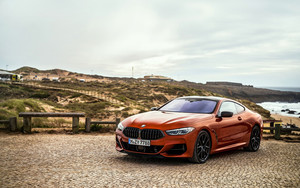 Preview wallpaper of BMW 8, Luxury, Red