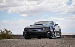 Смотреть обои chevrolet camaro, muscle car, lunchbox photoworks
