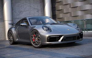 Preview wallpaper of Car, Porsche, Porsche 911 Carrera, Silver