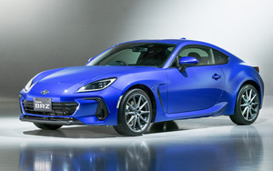 Preview wallpaper of subaru brz, cars, blue