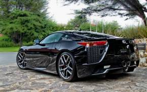 Preview wallpaper  <b>Supercar</b>, Car, Black, Lexus LFA, SportCar