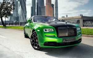 Preview wallpaper of Green, Car Luxury, Rolls-Royce, Wraith