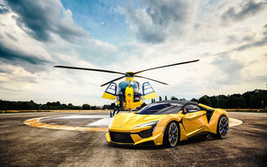 Смотреть обои Fenyr, SuperSport, Vehicle, Yellow