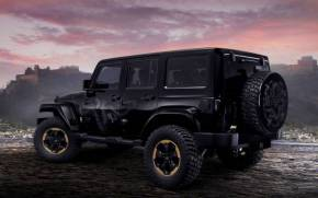 Смотреть обои Jeep Wrangler Dragon concept