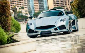 Preview wallpaper  Mazzanti Evantra, <b>supercar</b>, Monte Carlo