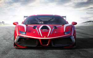 Preview wallpaper of Car, SuperCar, Ferrari 488 Challenge Evo