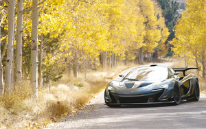 Preview wallpaper Black, Car, McLaren P1, Sport Car, Supercar