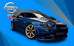 Preview wallpaper of Car, GT-R, Nissan