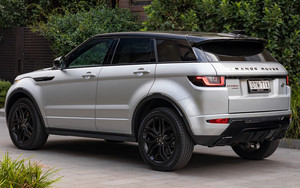 Preview wallpaper of Range Rover, Evoque Dynamic, Black Design Pack