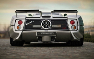 Смотреть обои Vehicles, Pagani Zonda, Car, Silver, SportCar