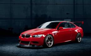 Preview wallpaper bmw m3 red tuning