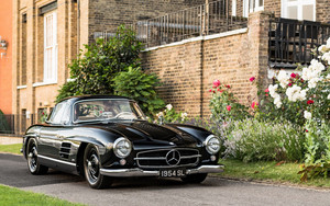 Preview wallpaper of Black, Car, Mercedes-Benz, Mercedes-Benz 300 SL