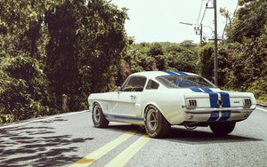 Preview wallpaper Ford, Shelby, GR350R, Muscle