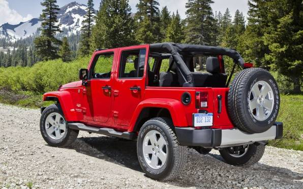 Обои Jeep Wrangler Unlimited Sahara,