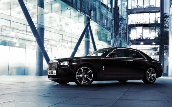 HD Wallpaper Rolls Royce Ghost V-Specification