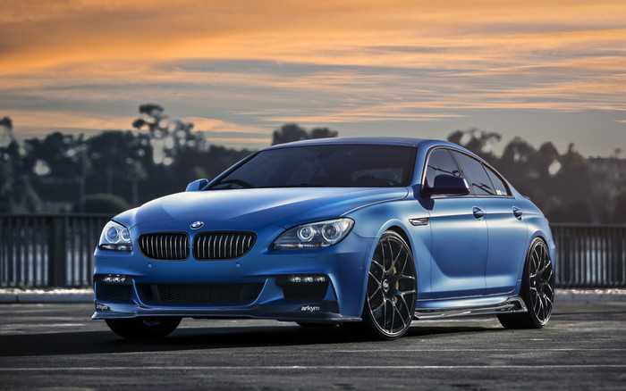HD Wallpaper BMW, BMW 6 Series, Blue Car, Car, Luxury Car