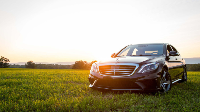 Wallpaper of Car, Black, Mercedes-Benz S63 AMG background & HD image