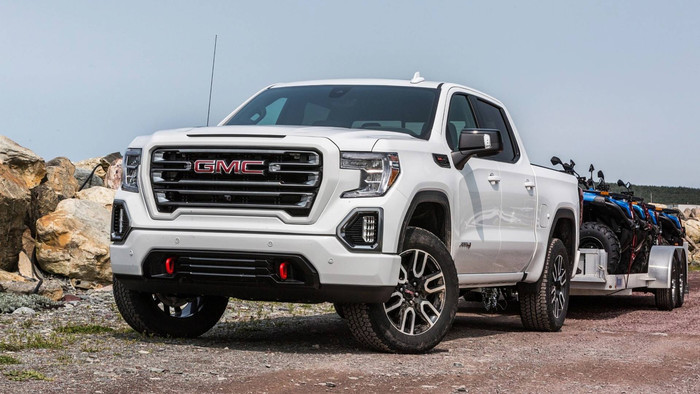 HD Wallpaper Car, GMC, Sierra Denali, Pickup, White Car