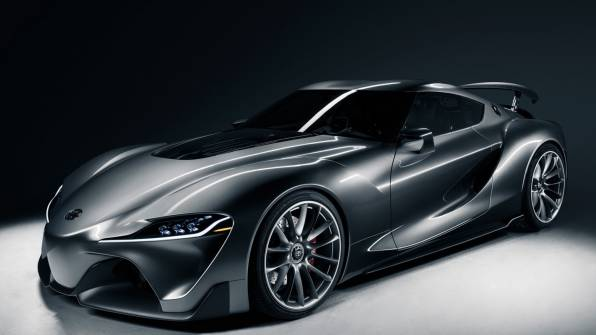 Обои toyota ft-1 graphite concept 2014