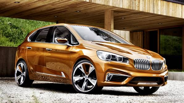 Обои BMW Concept Active Tourer