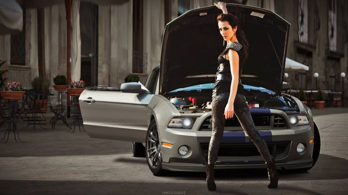 HD Обои Shelby GT500 Super Snake