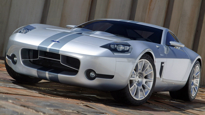 HD Wallpaper Concept, Ford Shelby GR-1, MuscleCar, Silver