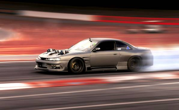 HD Wallpaper Nissan Silvia S14 drag racing