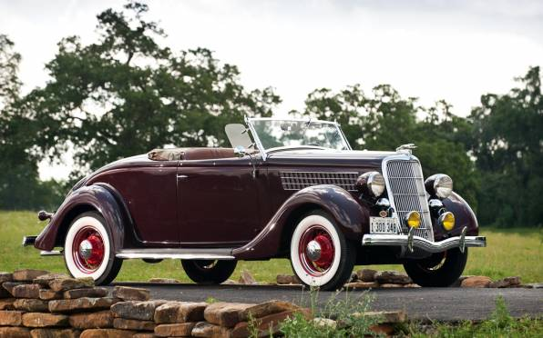 Обои Ford V8 Deluxe Roadster 1935