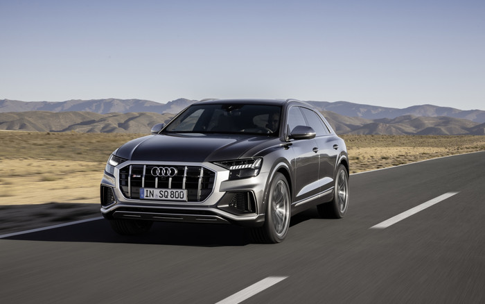 Wallpaper of Audi, Audi Q8, Luxury Car, SUV, Silver, Car background & HD image