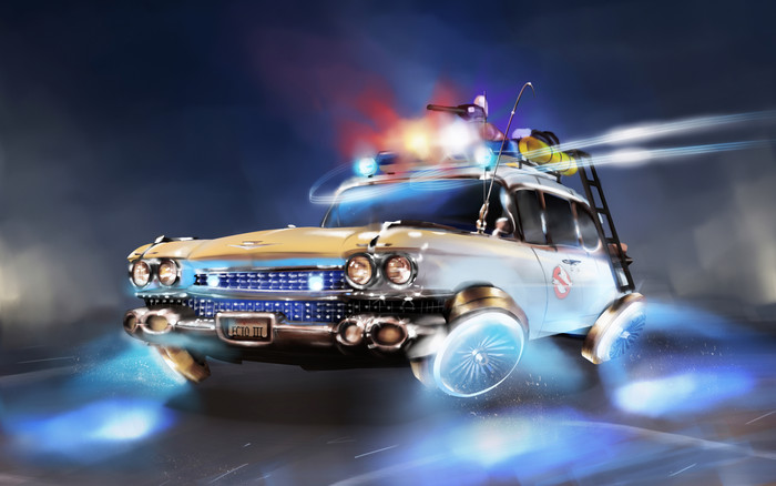 Wallpaper of Car, Ghostbusters, Vehicle, Cadillac background & HD image