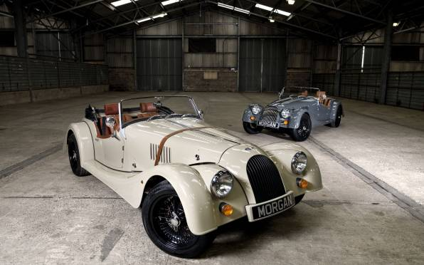 Обои Morgan Roadster 4/4, Sport