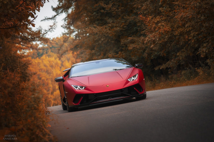 HD Wallpaper Lamborghini Huracan, Red, Sportcar, Supercar