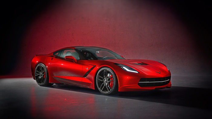 Wallpaper of Car, Chevrolet, Corvette, Red, Supercar background & HD image