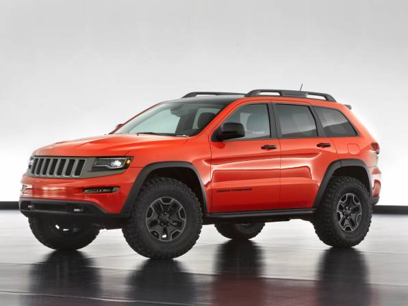Обои Jeep Grand Cherokee Trailhawk II Concept