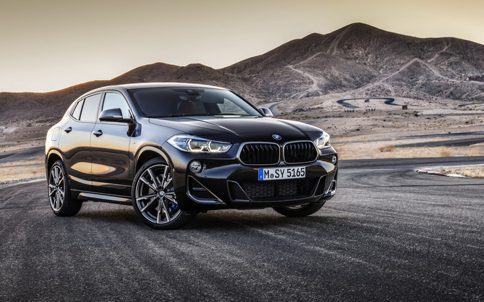 HD Wallpaper of BMW X2, Black, Car, Luxury