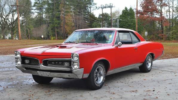 HD Wallpaper hardtop, GTO, Coupe, 1967, Pontiac, Red, Car