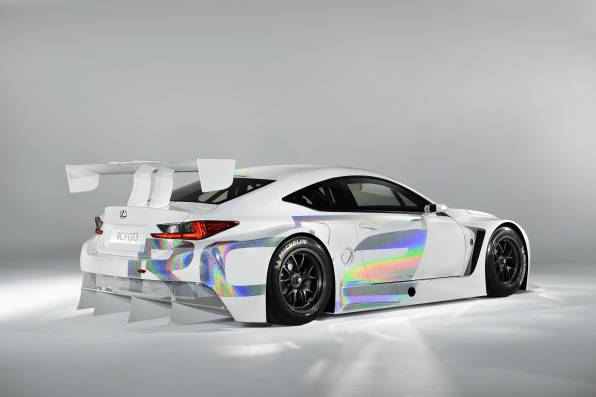 HD Wallpaper of lexus rc-f gt3 спорткар
