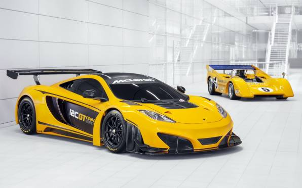 Превью обои: McLaren M8D 1970, 12C GT Can-Am Edition