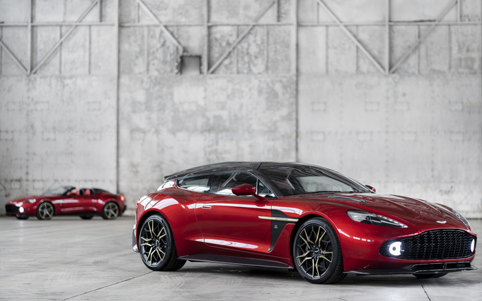 Wallpaper of Aston Martin Vanquish, Car, Red, Sport Car background & HD image