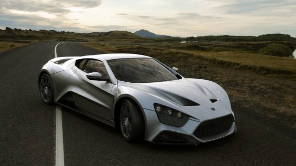 HD Wallpaper of Zenvo St1